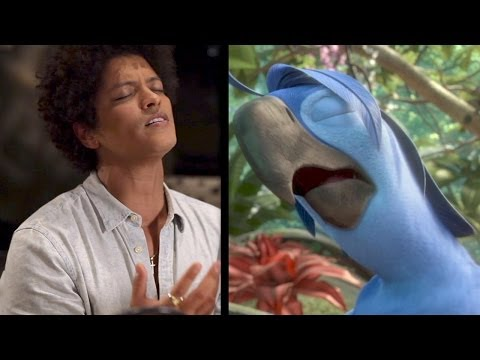 RIO 2 Voice Over Actors (Bruno Mars, Will i Am, Janelle Monae, Jamie Foxx...)