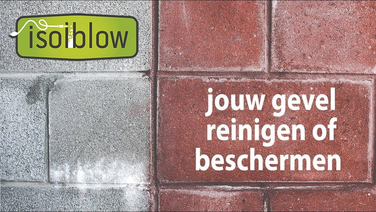 Nette en waterbestendige gevels - Isolblowplus beschermt jouw woning