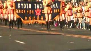 Kyoto Tachibana at the 2012 Rose Parade