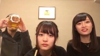 【AKB48G× #SHOWROOM】 #中井りか  (NGT48 チームNⅢ) 2017/03/05 22:06 #村雲颯香 #水澤彩佳