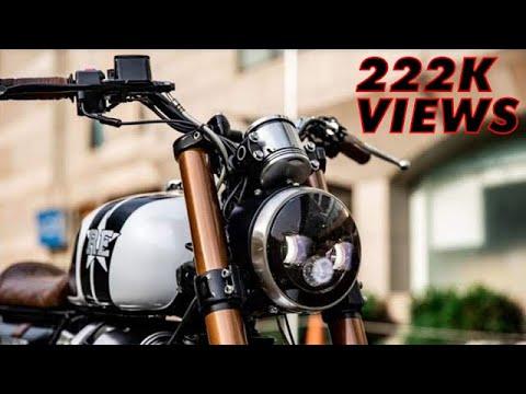 Interceptor 650 | Modified in Brat Cafe Racer | Walk Around & Exhaust Sound | Latest Video 2018