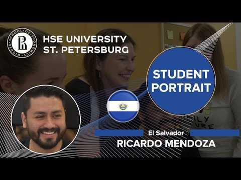 HSE - St. Petersburg Student Portrait: Ricardo Mendoza (El Salvador)
