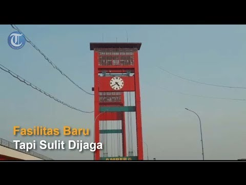 Kondisi Jembatan Ampera Setalah Asian Games 2018 di palembang