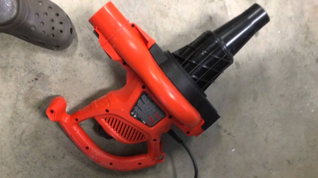 Sawdust Blower System : Craftsman table saw dust collector youtube
