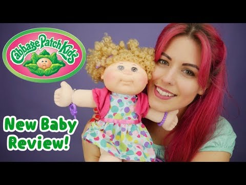 NEW Cabbage Patch Kids Unboxing! 2017 Fashion