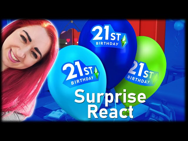 🎈🎉It's Finally Time...The Sims 21st anniversary SURPRISE REVEALED // Announcement REACT