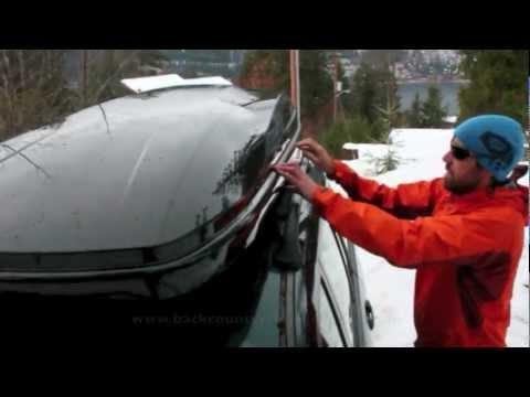 Rhino Rack RMFZ85 Master Fit Cargo Box (Ski Box)