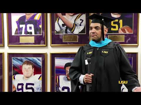 LSU Online Grad Earns Degree While Overseas | Leadership & HR Development