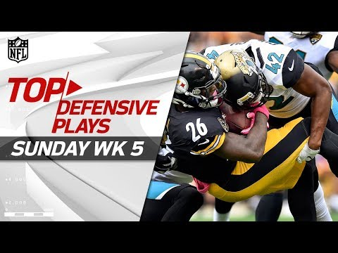 Top Defensive Plays from Sunday | NFL Week 5 Highlights