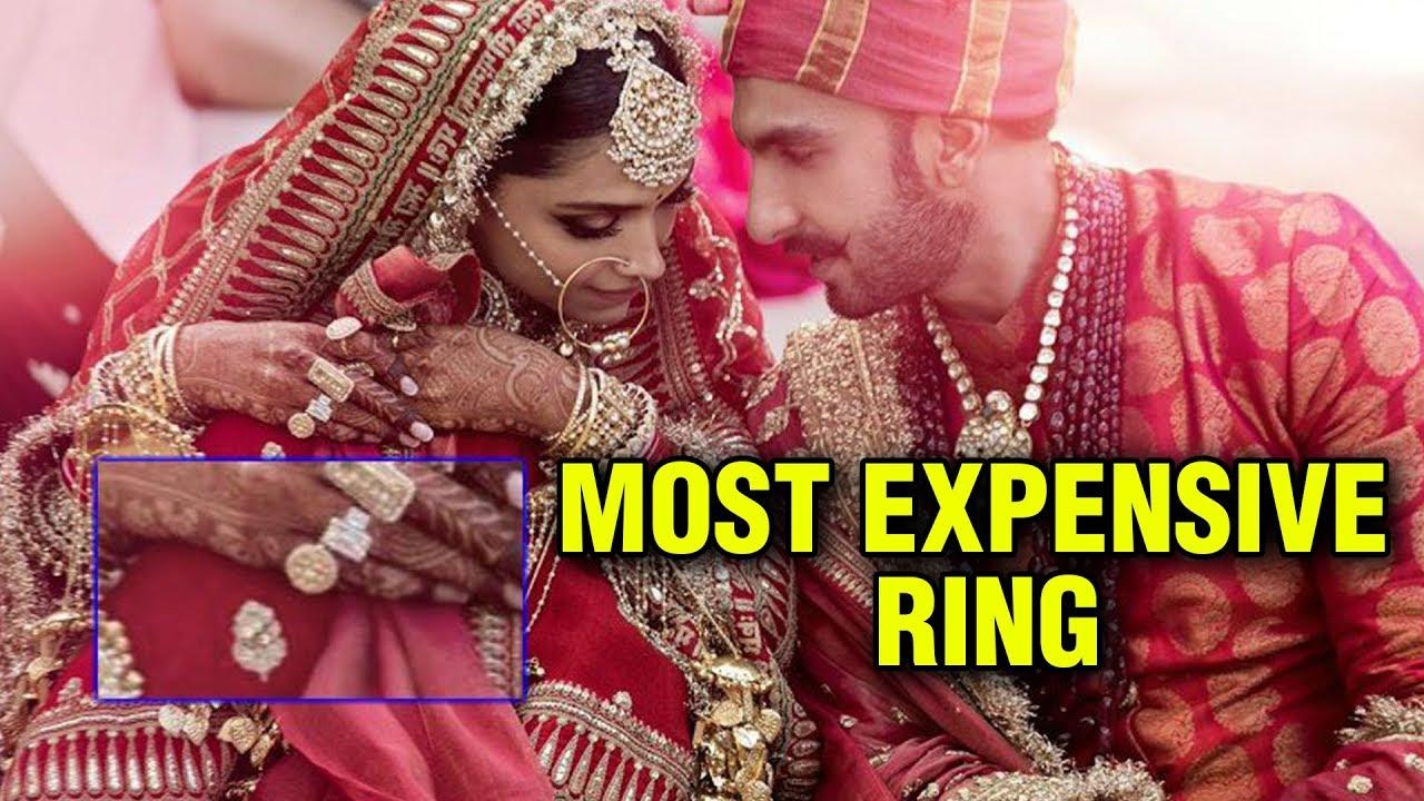 Deepika Padukone WEDDING RING PRICE Will SHOCK You ...