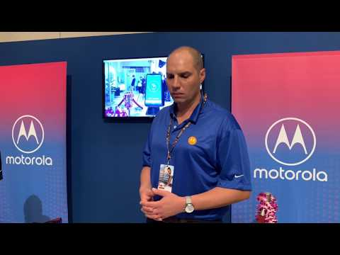 Demo of 5G on Motorola's 5G Moto Mod