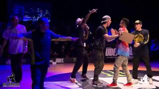Top side bboys vs 7 Commandoz | 1/8 crews | SILVERBACK 2015
