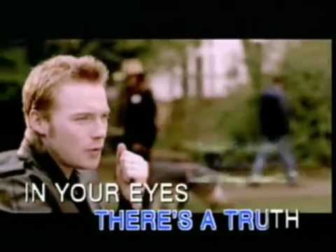 Ronan Keating - WHEN YOU SAY NOTHING AT ALL (Lyrics-English Subtitles).flv