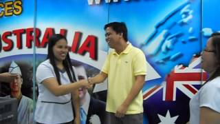 SkillSelect Visa Grant to Australia from the Philippines.