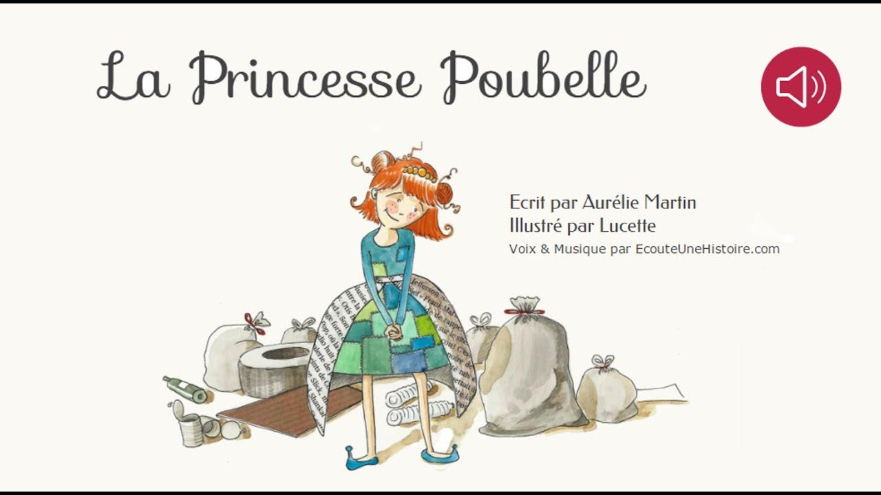 histoire pour enfants la princesse poubelle livre anim et audio youtube. Black Bedroom Furniture Sets. Home Design Ideas