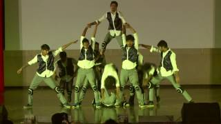 iit bhu varanasi   group dance   inter iit cultural meet 2016
