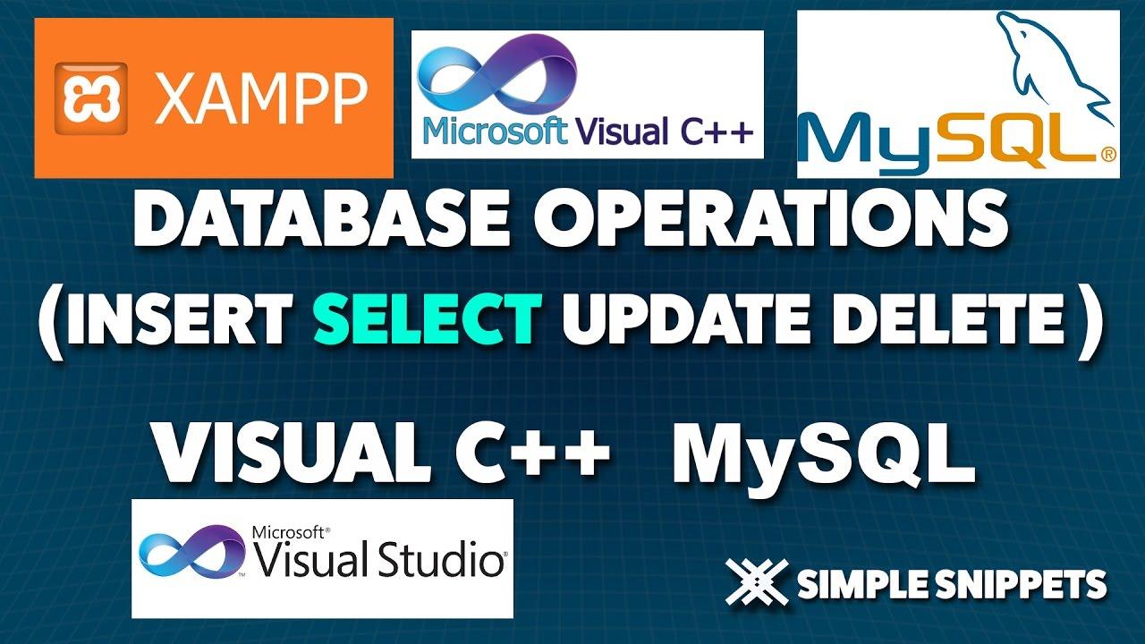 Download Visual C++ 6 Database Programming Tutorial PDF