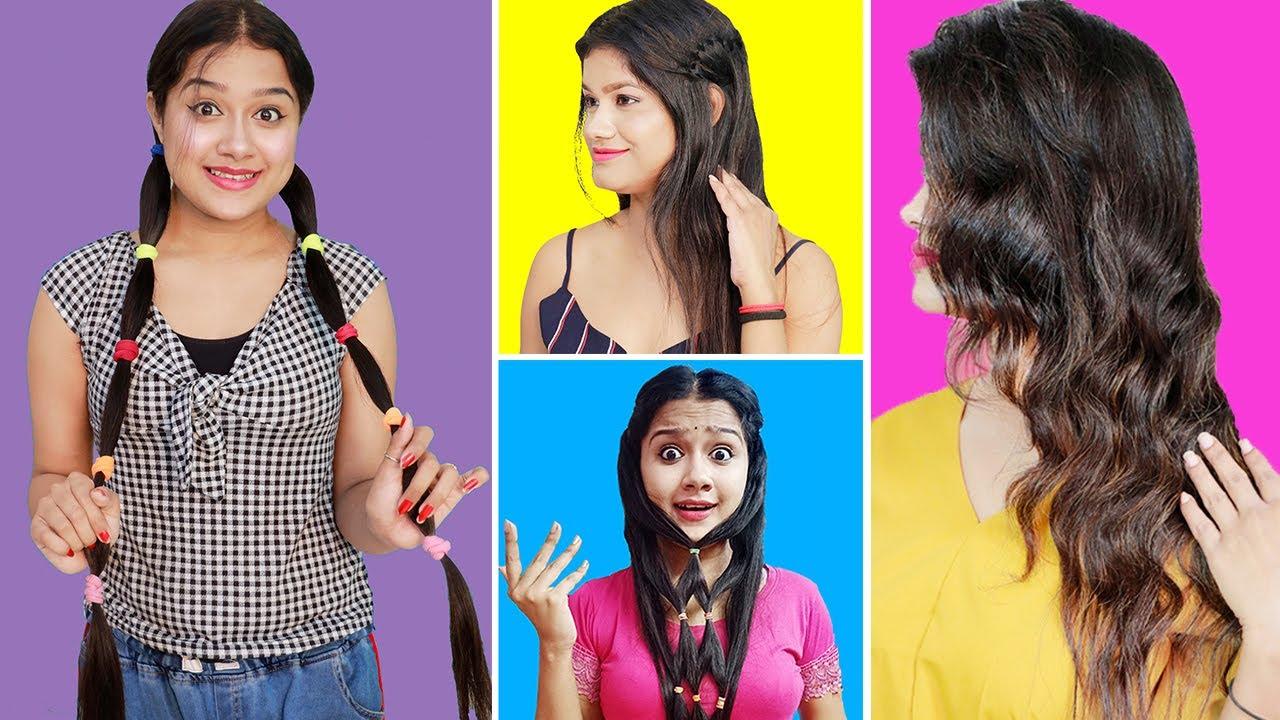 স্মার্ট মেয়েদের জন্যে অসাধারণ কিছু HAIR & LIFE HACKS | Brilliant Life Hacks for Smart Girls