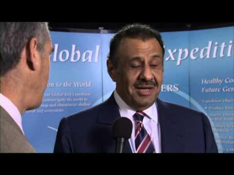 HRH Prince Khaled bin Sultan Accepts the 2012 Perseus Award