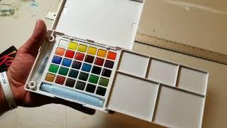 Review: Sakura Koi Watercolor Field Sketch Set by JOSE TRUJILLO