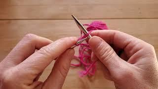 Tutoriel Tricot - Le montage tricoté (cable cast-on)