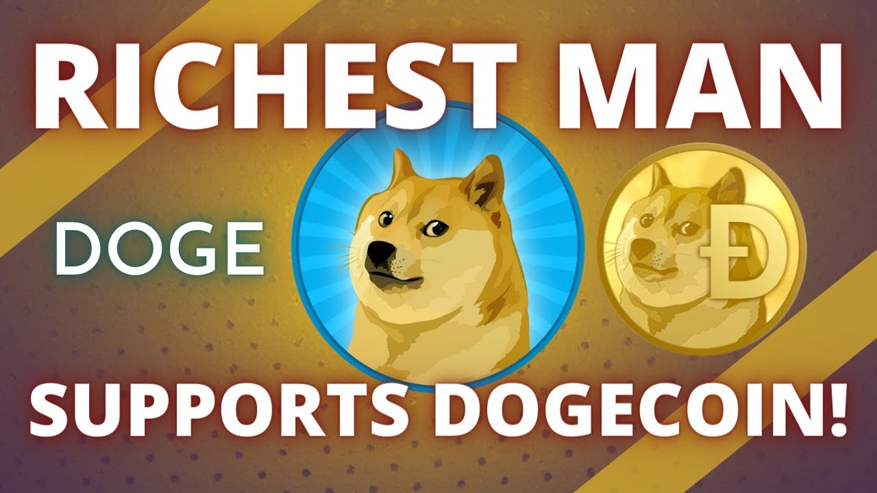 DOGECOIN (DOGE) IS NOW SUPPORTED BY THE WORLD'S RICHEST MAN!! Cryptocurrency News & Analysis 2021