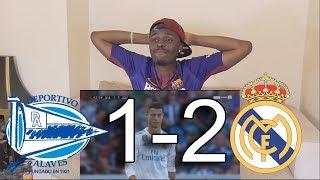 Deportivo Alaves VS Real Madrid 1-2 ● Reaction
