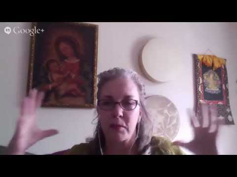 Synergy Cafe ONLINE HangOut with Karyn Armstrong on Sensual Relationships, Wellness, and Shamanism