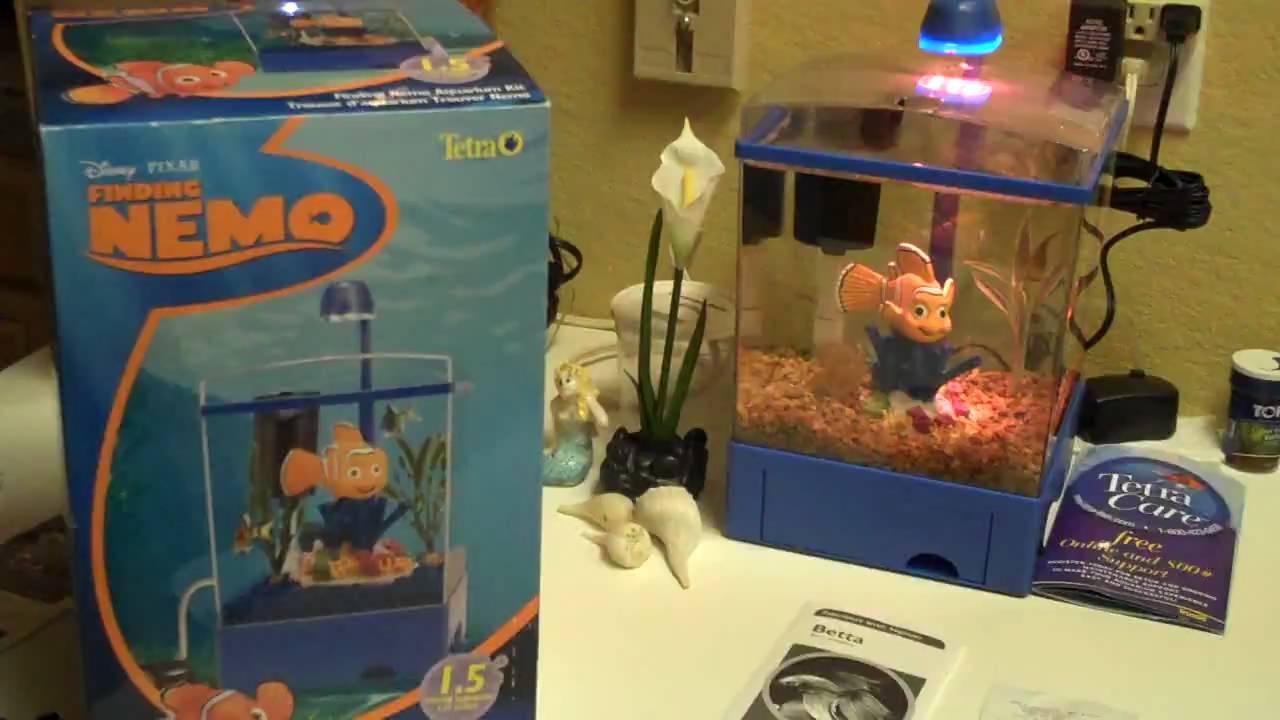 Fish in the tank finding nemo - Tetra Disney Pixar Finding Nemo 1 5 Gallon Tank Review