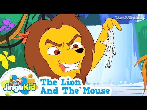 The Lion and the Mouse | HD Tales of Panchatantra | Animated Moral Stories For Kids