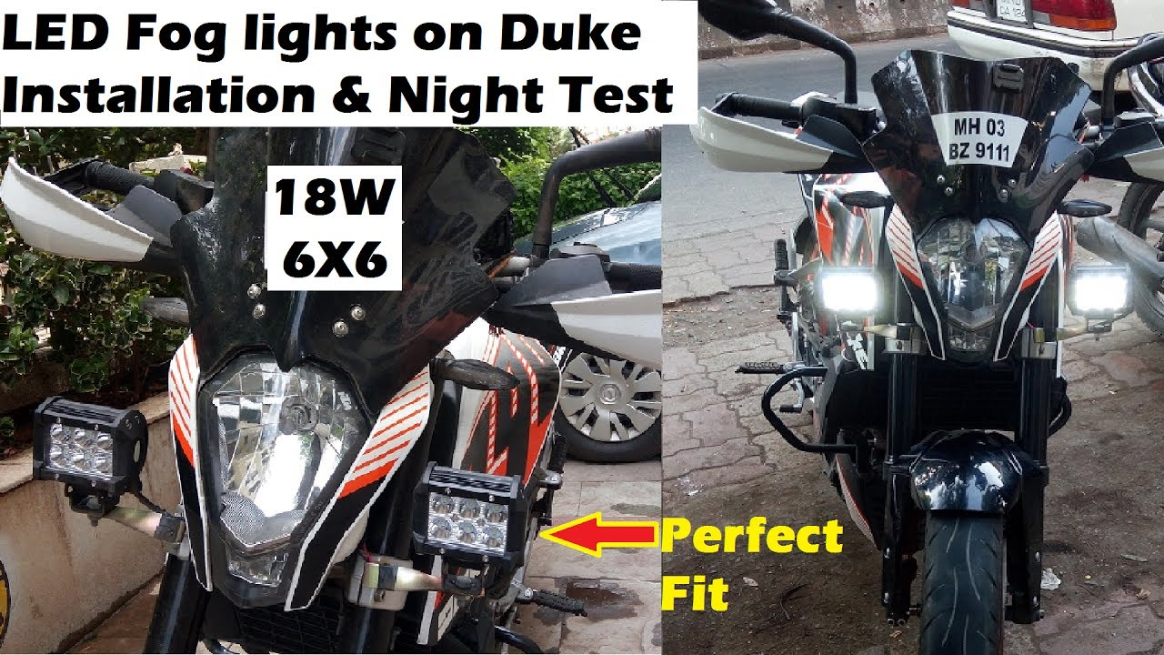 e5169adea LED Fog Lights on Any Bike