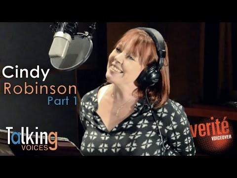 cindy robinson behind voice actors
