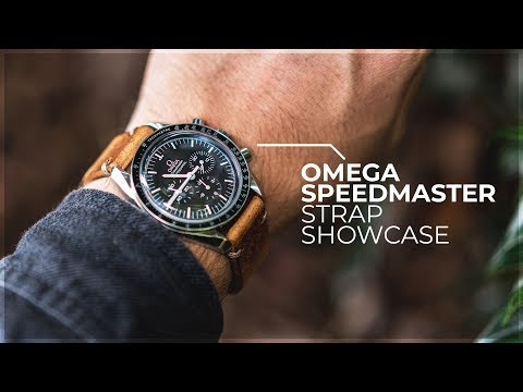 The Perfect Strap Combos? - Omega Speedmaster Moonwatch Strap Showcase By WatchGecko