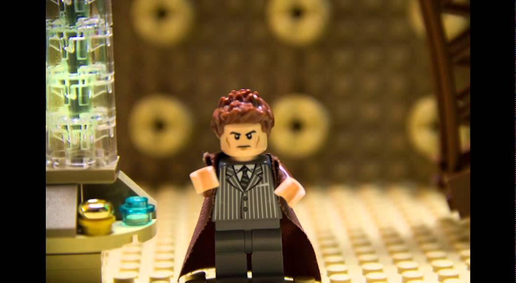 Doctor Who 50th Anniversary Lego Tribute