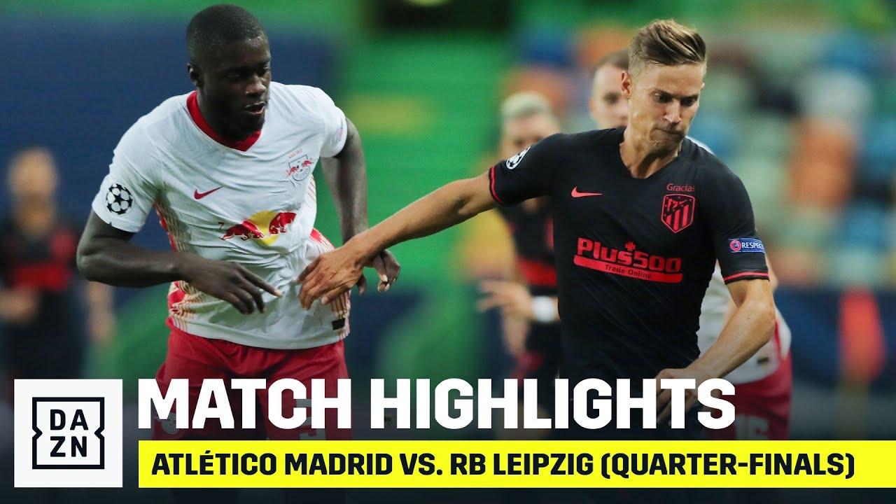 HIGHLIGHTS | Atlético Madrid vs. RB Leipzig (UEFA Champions League Quarter-Finals)