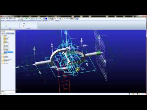 MSC Adams Cardan Joint Animation Tutorial