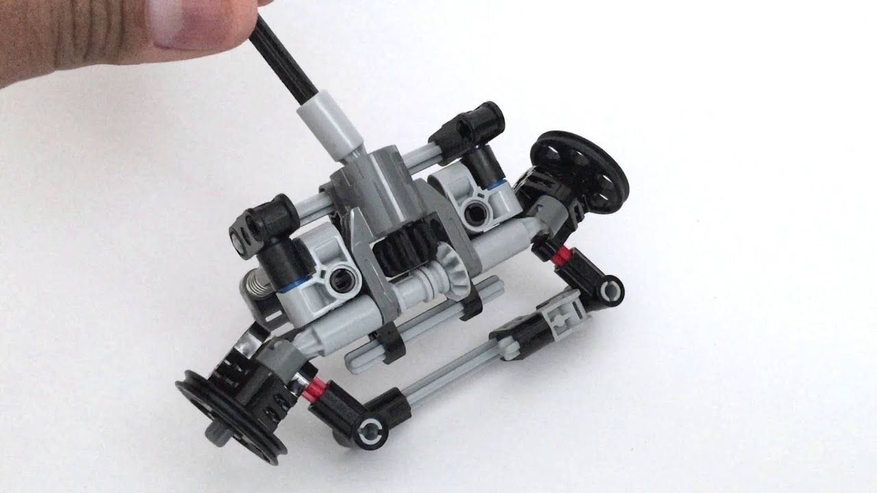 Lego Technic Mini Front Wheel Drive With Steering Doovi