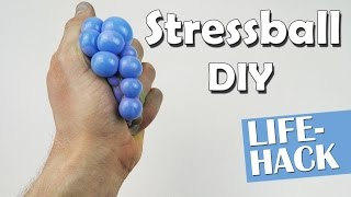 instant video play diy anti stressball challenge. Black Bedroom Furniture Sets. Home Design Ideas