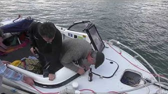 Replacing a perspex panel in a boat windscreen