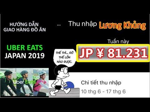 HƯỚNG DẪN GIAO ĐỒ ĂN UBER EATS JAPAN 2019 - THÀNH NGUYỄN