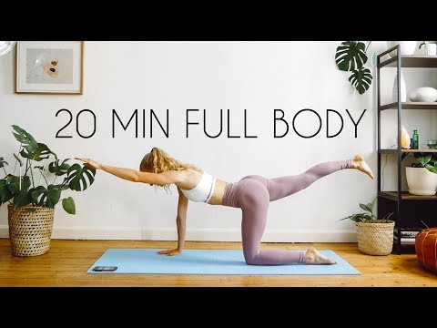 20 MIN FULL BODY WORKOUT | At Home & Equipment Free!