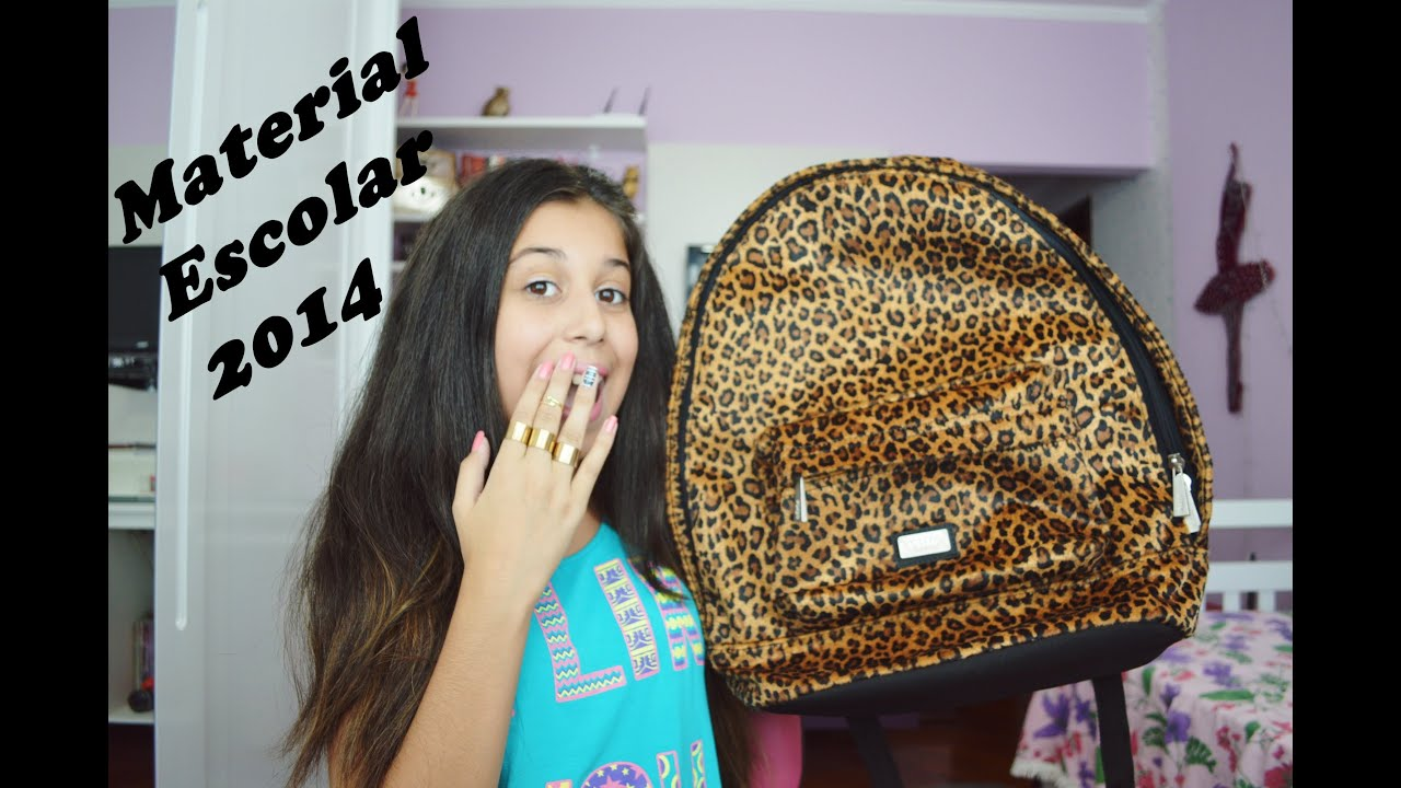 Rayra Fortunato ~ Material Escolar 2014 ! YouTube