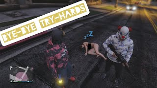 GTA V online Thug Life dog in the try-hards