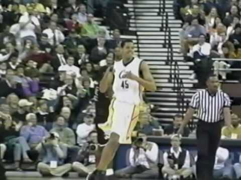 Cal Mens Basketball 1998-99.  Highlights from NIT Championship Year