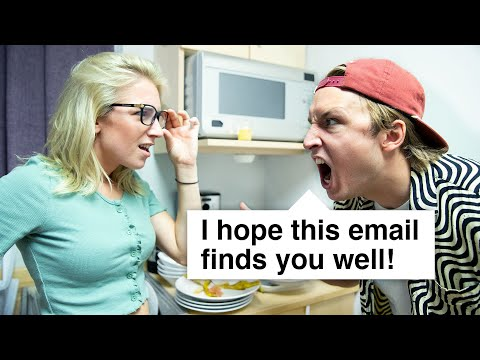 Email Fight in Real Life!