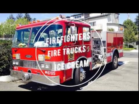 Firefighters in Fire Trucks getting Ice Cream - Prziborowski (Part 1) Crashing 100 planes per day