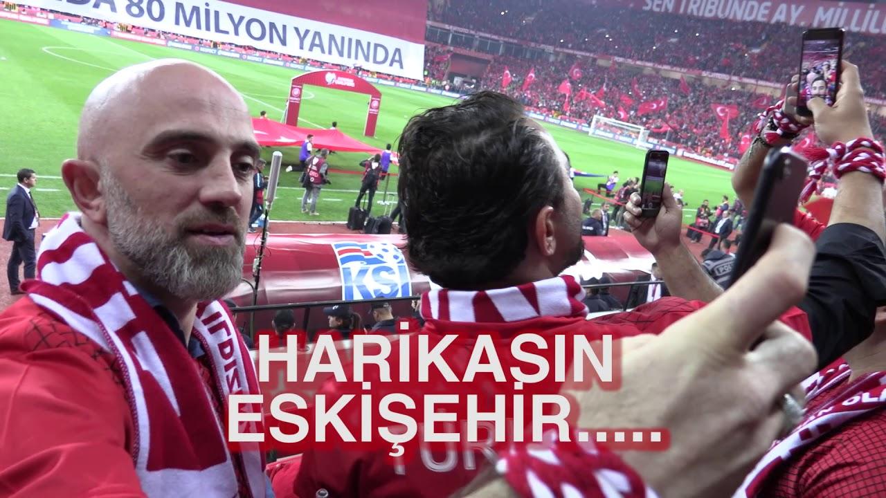 Sadece Eskişehir Seyircisi İçin İzlenir  Türkiye - İzlanda Milli Maçı Vlog