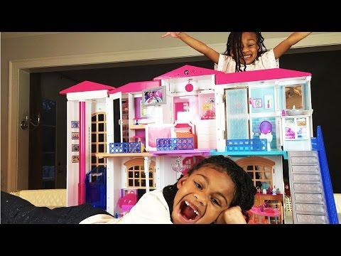 Bad Baby Disney Princess Magic Transform Barbie Hello Dreamhouse