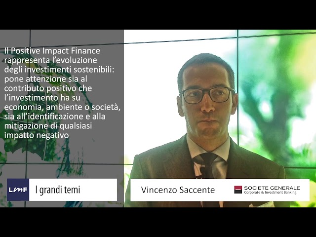 Positive Impact Finance - Vincenzo Saccente (Société Générale)