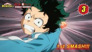 #ヒロアカアニメ名シーン:第3弾「1st SMASH<ファースト・スマッシュ>」(『僕のヒーローアカデミア』第4話より) thumbnail